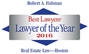 Best Lawyers in America 2016 Lawyer of the Year