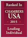 Ranked in Chambers USA 2015 Leading Individual
