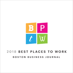 Boston Business Journal Best Places to Work logo
