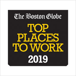 Boston Globe's Top Places to Work logo