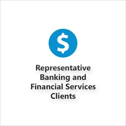 Representative Banking and Financial Services Clients